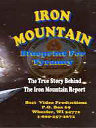 Iron Mountain Blueprint For Tyranny